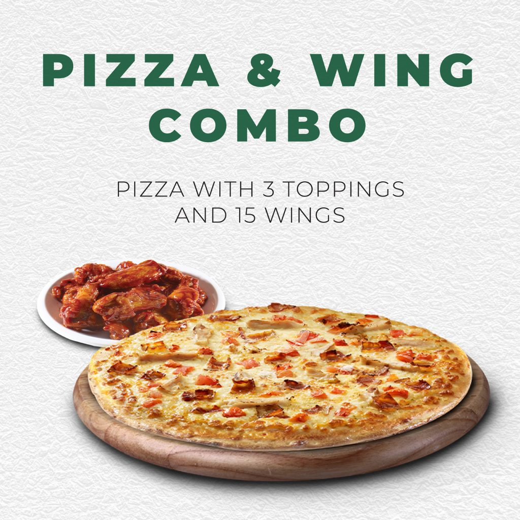 Pizza & Wing Combo